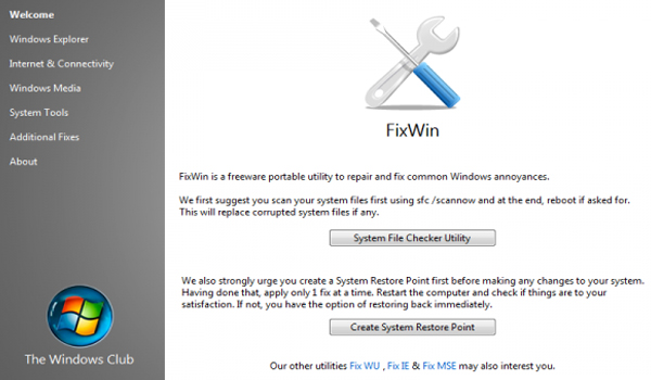 Repara tu sistema operativo Windows 7 y Windows Vista con FixWin